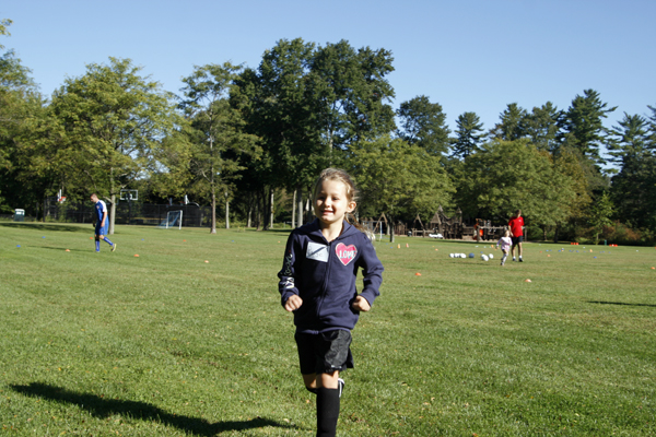 Paige at Soccer