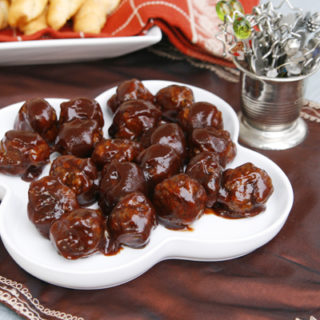 Barbecue Meatballs Appetizer