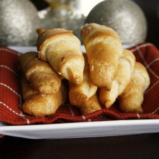 Buttery Garlic Asiago Crescents