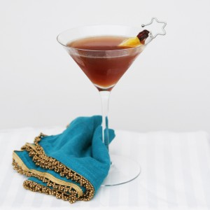Stress-Free Thanksgiving: Cranberry Citrus Martini (and Don't Forget the Drinks)