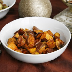 Stress-Free Thanksgiving: Simple Roasted Sweet Potatoes