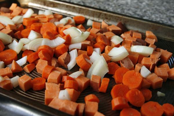 Roasted Vegetable Barley Salad with Lemon Vinaigrette - Sarah's Cucina ...