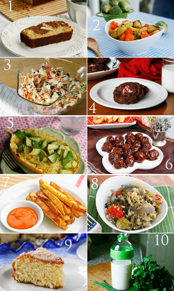 Top 10 Recipes of 2012 on Sarah's Cucina Bella
