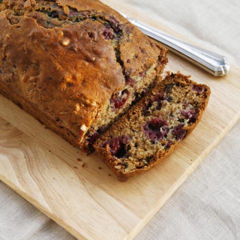Raspberry Walnut Buttermilk Bread