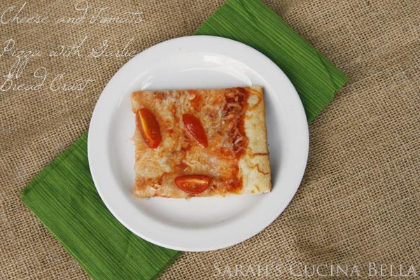 garlic bread crust