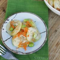 Cucumber, Carrot and Edamame Salad