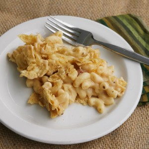 Salsa con Queso Macaroni and Cheese