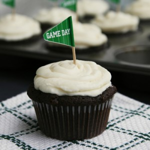 Game Day Dessert: Chocolate Stout Cupcakes
