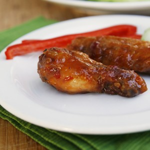 Game Day Food: Crispy Baked Sweet Chili Wings