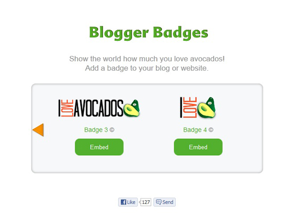 Avocado Badges