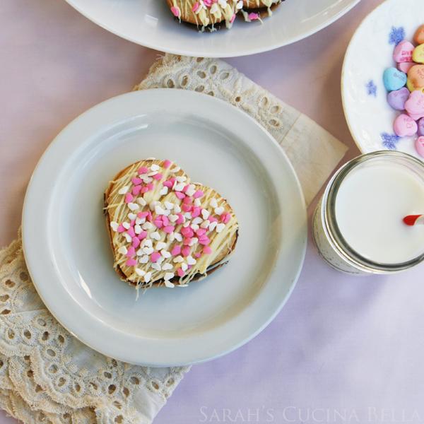 Double Chocolate Heart Sandwich Cookies