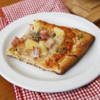 Herb and Cheese Crust Hawaiian Pizza