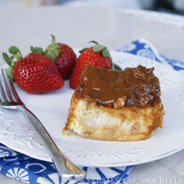 Dulce de Leche Overnight French Toast