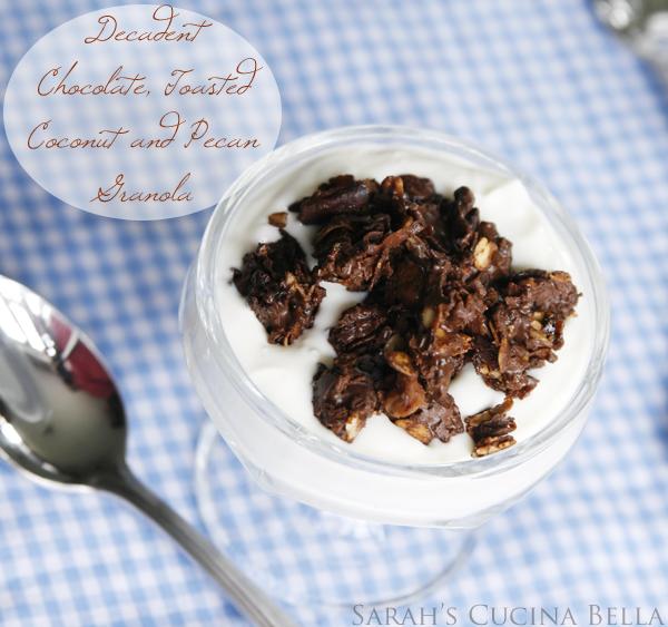 chocolate coconut pecan granola-2