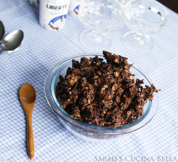chocolate coconut pecan granola-3
