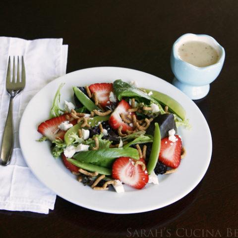 Crunchy Strawberry Salad