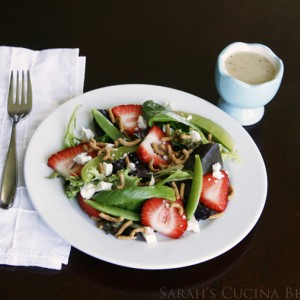 Crunchy Strawberry Salad