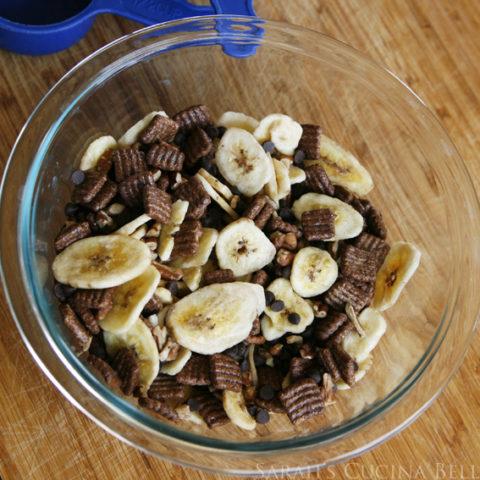 Quickie Chocolate Banana Trail Mix