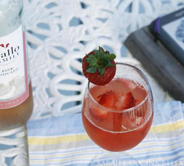 Strawberry Moscato Sparkler-4