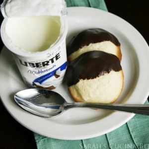 Decadent Chocolate Dipped Shortbread Cookies with Liberté Mediterranee Coconut