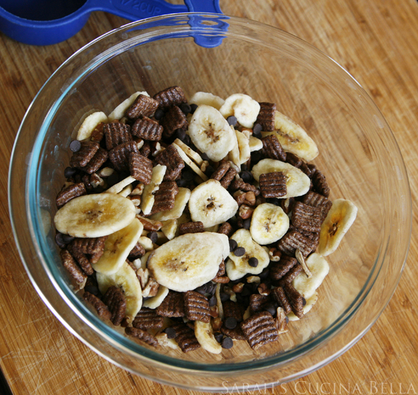 Quickie Chocolate Banana Trail Mix