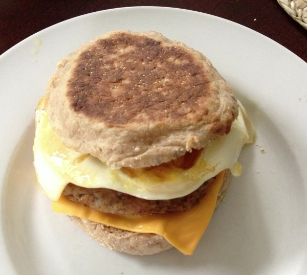 al fresco country style breakfast patty
