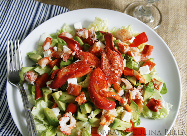 Lobster Salad with Avocado Feta and Lemon Vinaigrette, which is the best dressing for lobster salad