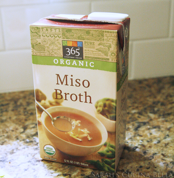 Whole Foods Miso Broth