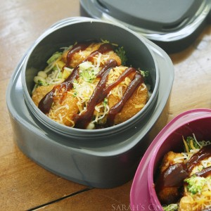 Barbecue Chicken and Veggie Rice Bowls for Lunchboxes (and Project A+)