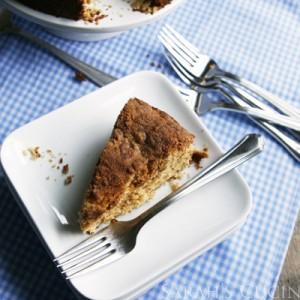 Biscoff Streusel Coffee Cake