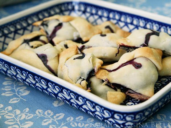 blueberry raspberry hand pies scb