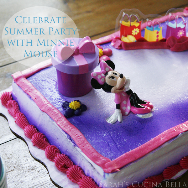 Celebrate Summer Party with Minnie Mouse