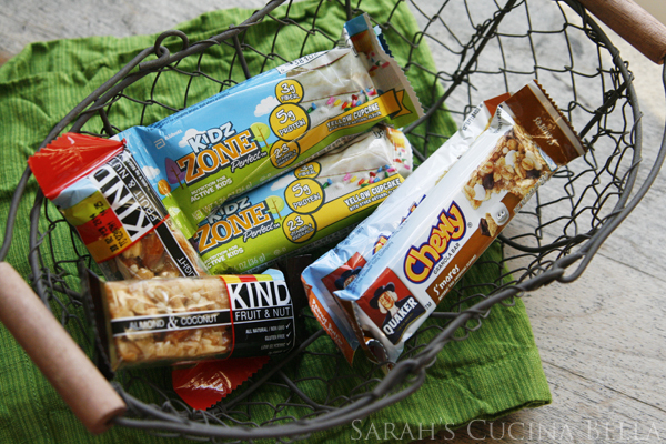 Basket of Breakfast Bars