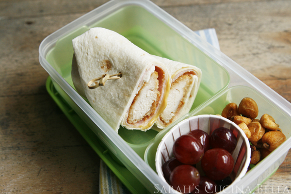 Bento Chicken Cordon Bleu Wrap
