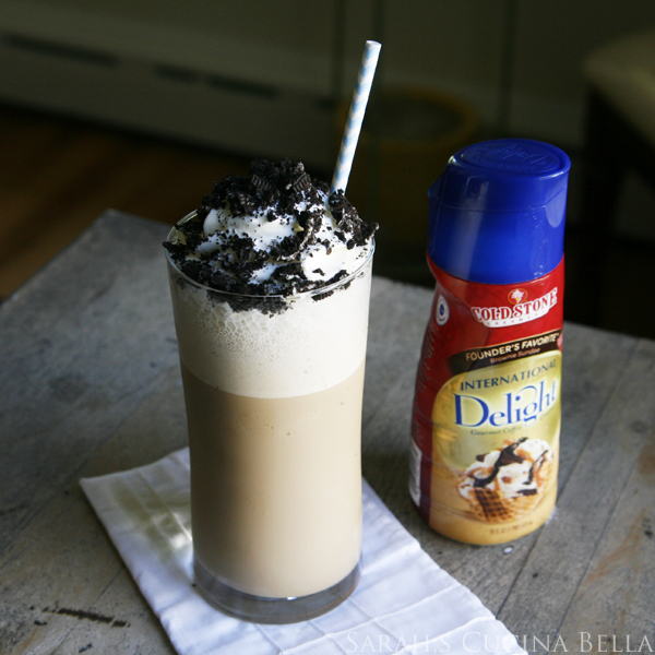 Chocolate Brownie Coffee Frappe