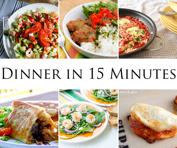 Dinner in 15 Minutes
