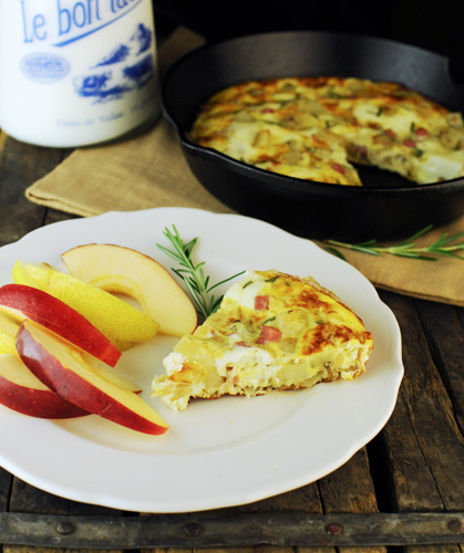 Spanish Oven Omelet with Diced Potatoes KW