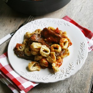 Grilled Steak Bruschetta Tortellini (Quick Family Meals)