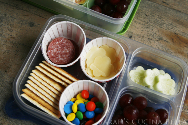 Easy Bento Style Lunch