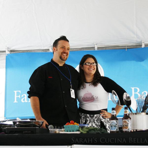 Chef Plum and Sarah W Caron