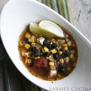 Easy Chicken-Cilantro Soup