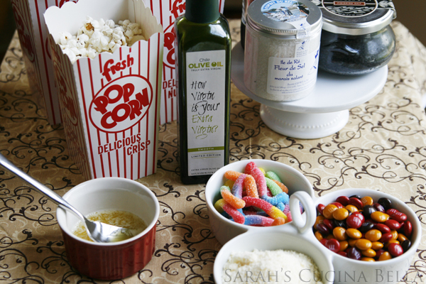 Kitchen Entertaining: DIY Popcorn Bar