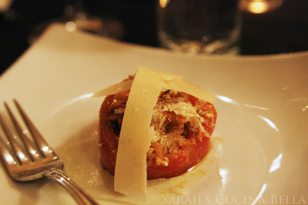 Stuffed Tomato Pork Belly
