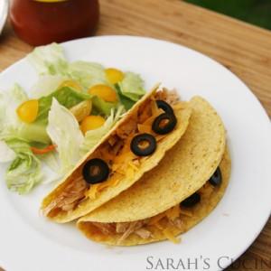 Slow Cooker Enchiladas Tacos