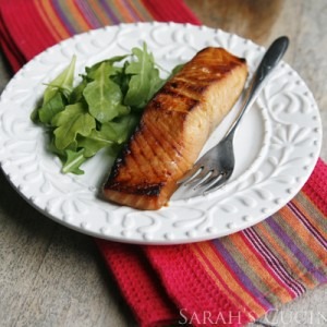 Miso Salmon (The Smart Shopper Diabetes Cookbook)