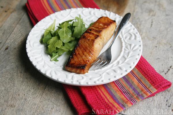 Miso Salmon (The Smart Shopper Diabetes Cookbook)