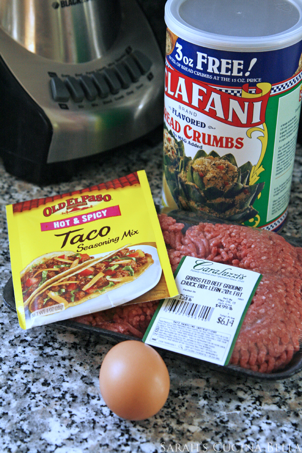 taco meatballs ingredients
