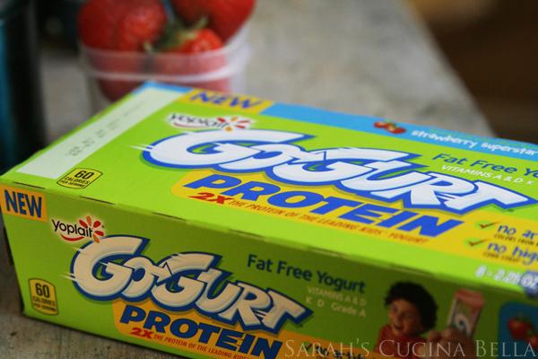 GoGurt Protein Box