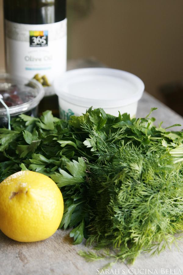 Marinated Olives Ingredients