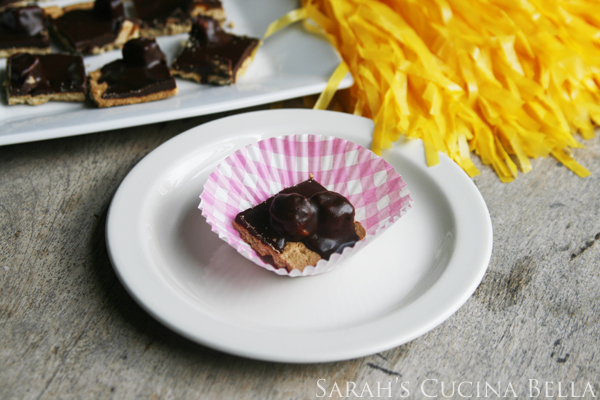 Snickers Truffle Squares #shop